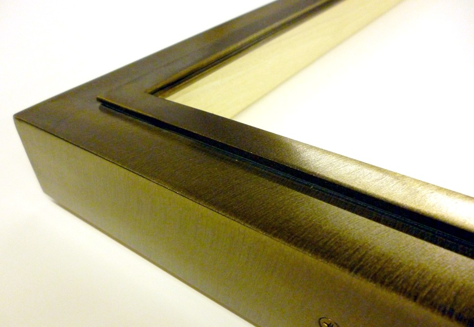 Special Custom Welded Steel Step Profile for a New York City Frameshop