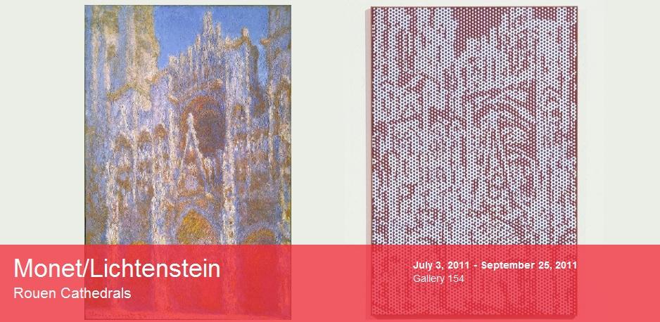 Lichtenstein/Monet Exhibiton