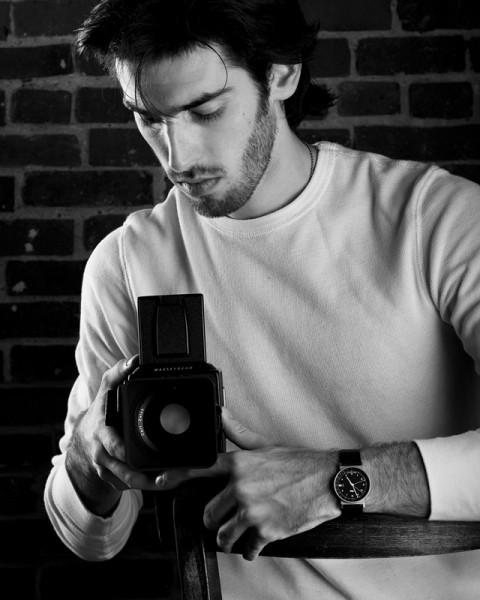 Self Portrait by Mitch Weiss