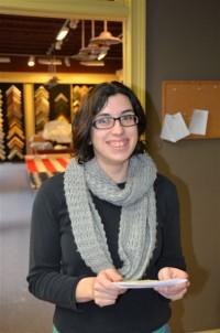 A Street Frames Employee Chantal