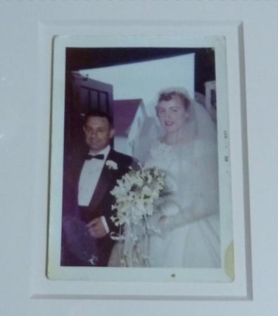 Family photo framing