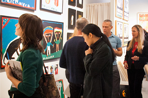 Outsider Art Fair May 8 - 11, 2014
